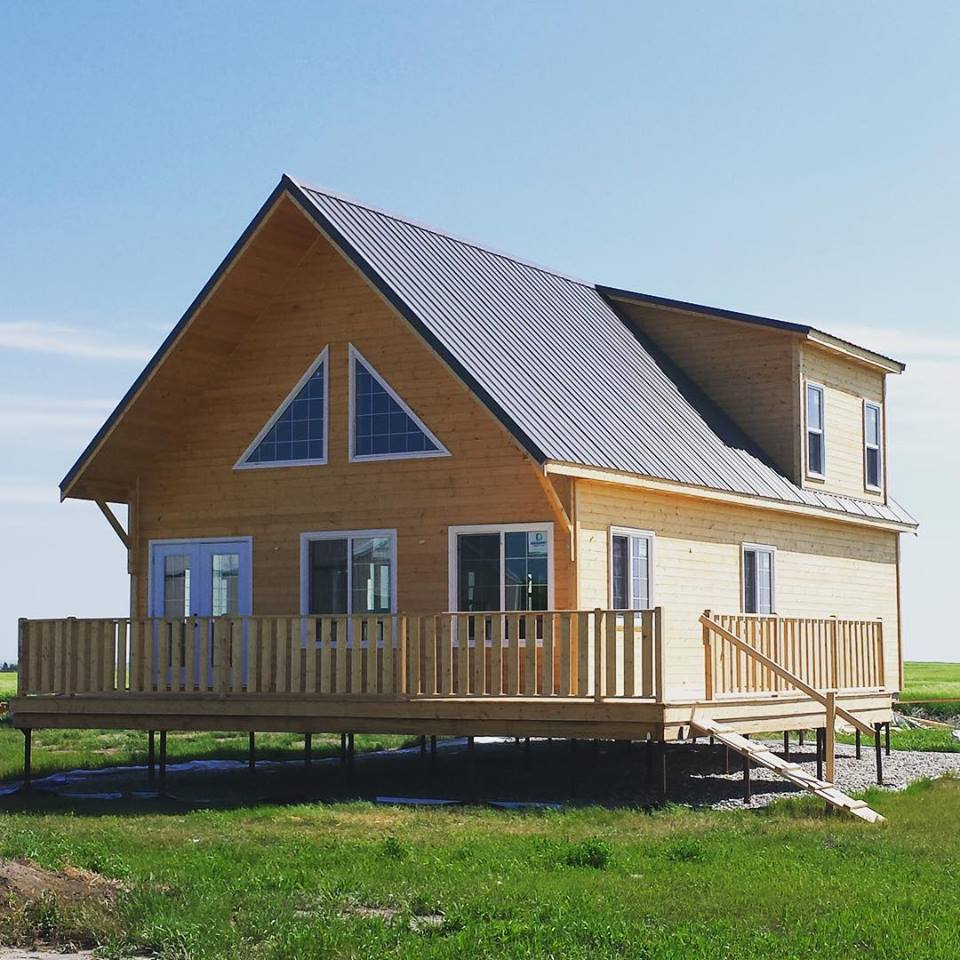 Blog Alberta Cabin Packages Aluminum Wiring In Homes Theyre Installed Below The Frost Line Therefore Unaffected By Temperature Fluctuations And Ground Movements For That Reason Screw Piles Offer